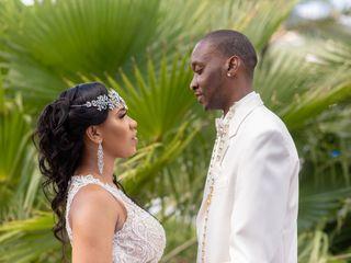The wedding of Lameisha Dawson  and Aubrey Dawson