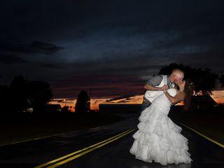 The wedding of Michaele and Brandon