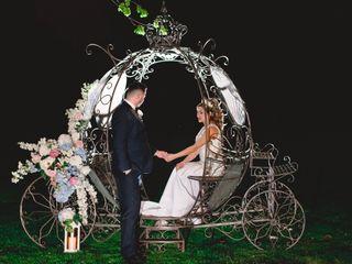 The wedding of Elizabeth and Robert