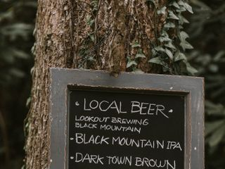 Shannon and Jesse's Wedding in Black Mountain, North Carolina 10