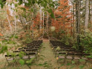 Shannon and Jesse's Wedding in Black Mountain, North Carolina 7