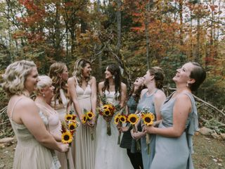 Shannon and Jesse's Wedding in Black Mountain, North Carolina 3