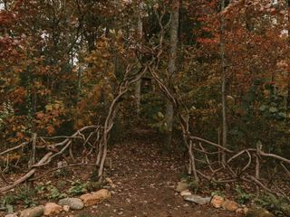 Shannon and Jesse's Wedding in Black Mountain, North Carolina 6