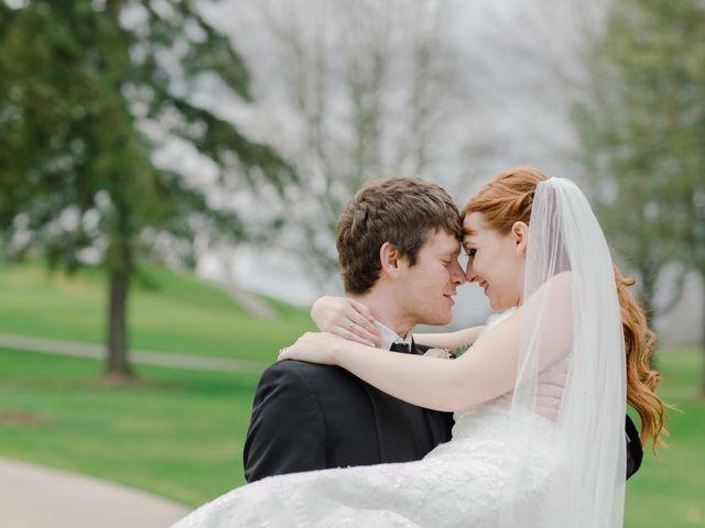 The wedding of Nina and Ian