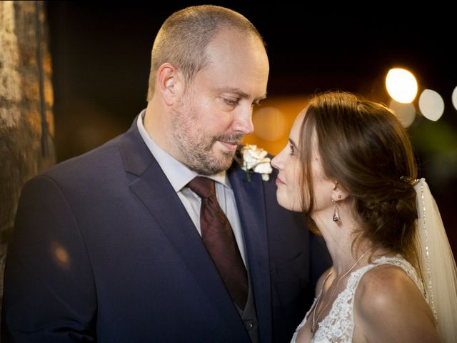The wedding of Kim and Dustin