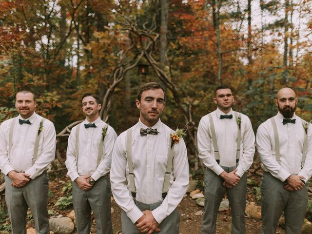 Shannon and Jesse's Wedding in Black Mountain, North Carolina 1