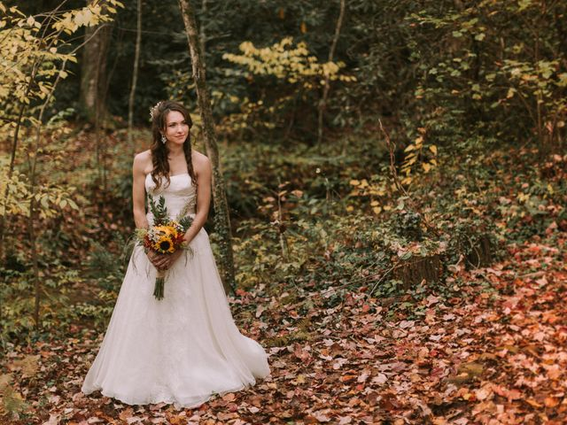 Shannon and Jesse's Wedding in Black Mountain, North Carolina 2
