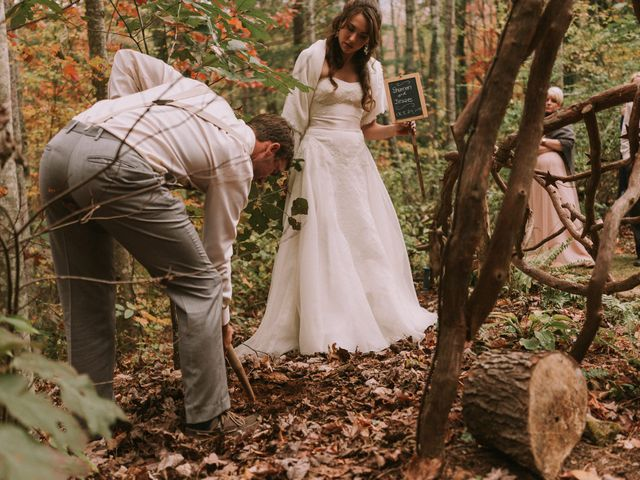 Shannon and Jesse's Wedding in Black Mountain, North Carolina 4