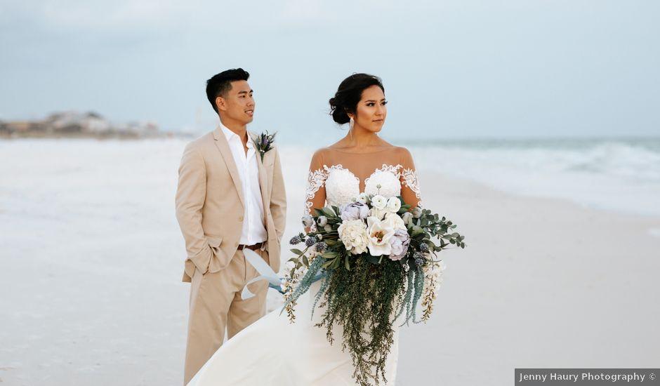 David and Karen's Wedding in Destin, Florida