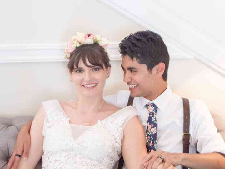The wedding of Valerie and Matthew