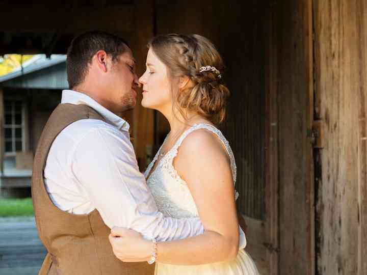 The wedding of Meagan and Tyler