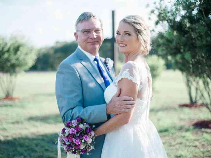 The wedding of Terri and Rick