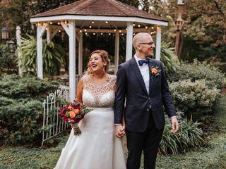The wedding of Tessa and Joe