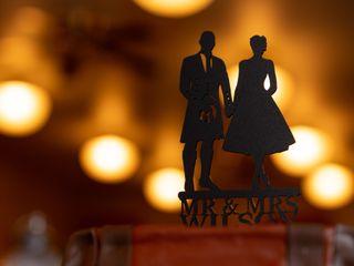 The wedding of Katherine and Murray 1