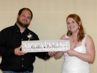 The wedding of Nicole and Nathan 1