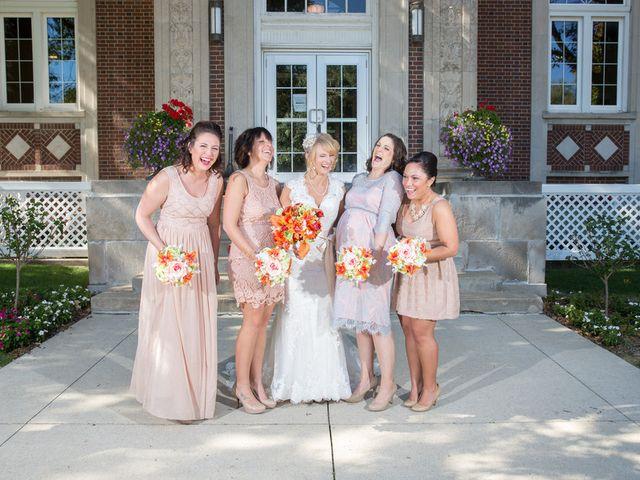 Elizabeth and Jesse's Wedding in Waterloo, Iowa 6
