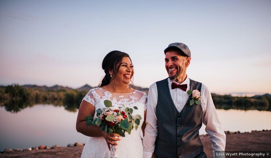 Samuel and Patty's Wedding in Buckeye, Arizona