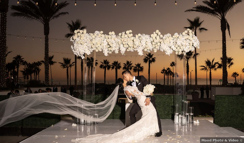 TEDDY and DIANA's Wedding in Huntington Beach, California