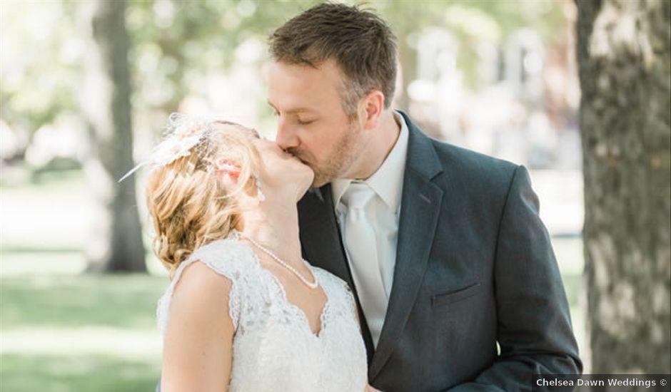 Elizabeth and Jesse's Wedding in Waterloo, Iowa