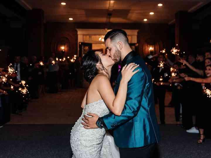 The wedding of Pamela and Sebastian