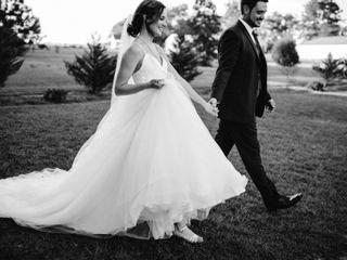 The wedding of Emma and Scott