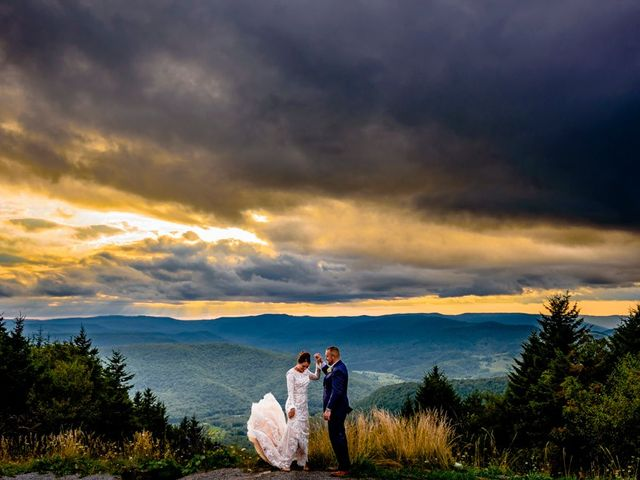 Eric and Ashley's Wedding in Snowshoe, West Virginia 6