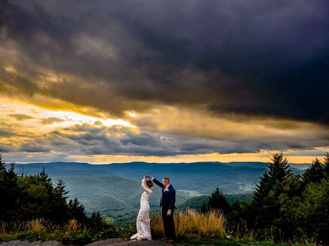 Eric and Ashley's Wedding in Snowshoe, West Virginia 1