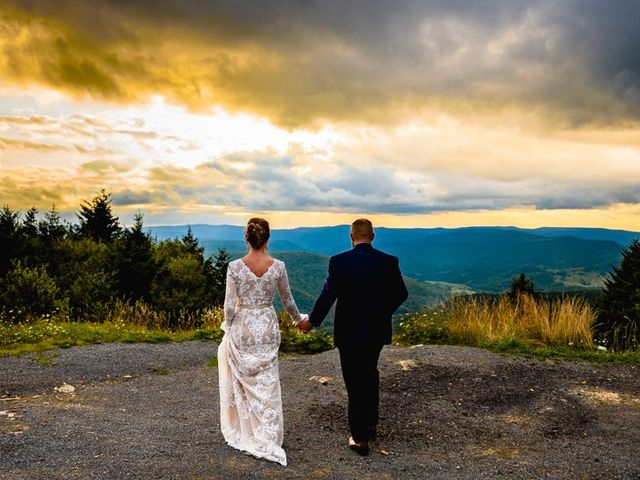 Eric and Ashley's Wedding in Snowshoe, West Virginia 7