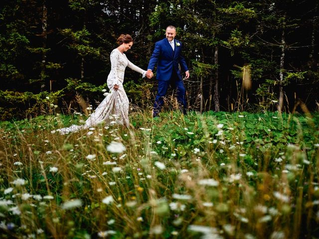Eric and Ashley's Wedding in Snowshoe, West Virginia 8