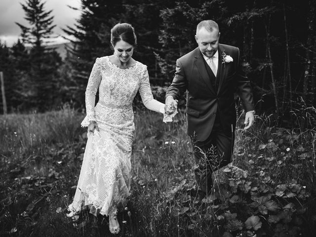 Eric and Ashley's Wedding in Snowshoe, West Virginia 9