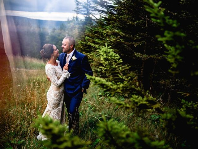 Eric and Ashley's Wedding in Snowshoe, West Virginia 10