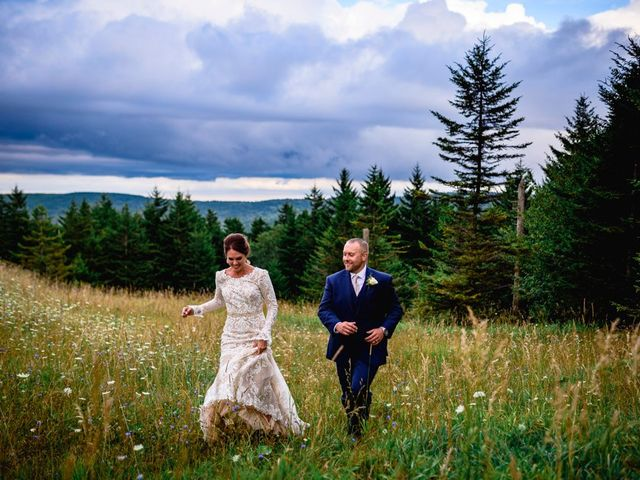 Eric and Ashley's Wedding in Snowshoe, West Virginia 13