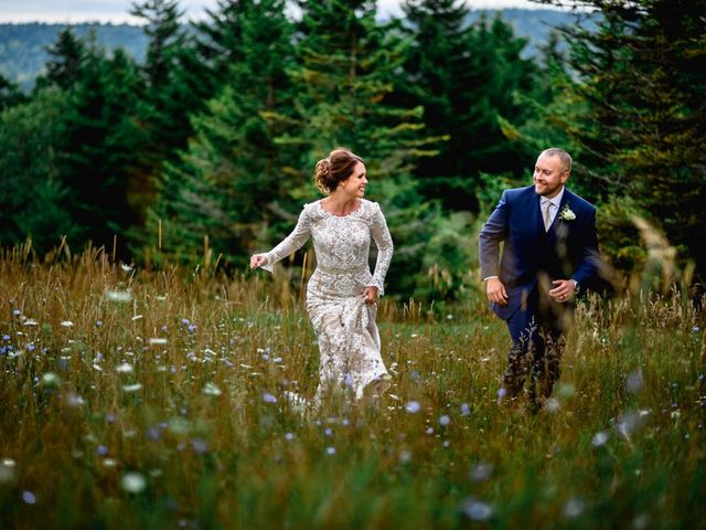 Eric and Ashley's Wedding in Snowshoe, West Virginia 14