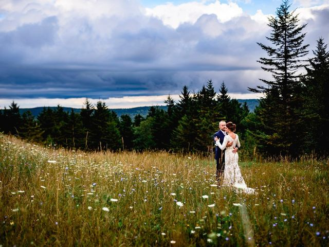 Eric and Ashley's Wedding in Snowshoe, West Virginia 17
