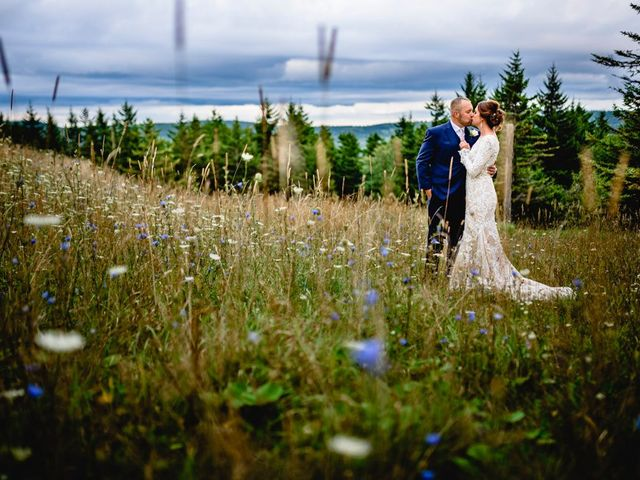 Eric and Ashley's Wedding in Snowshoe, West Virginia 19