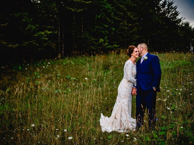 Eric and Ashley's Wedding in Snowshoe, West Virginia 21