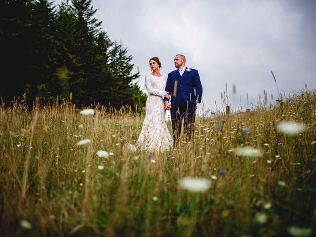 Eric and Ashley's Wedding in Snowshoe, West Virginia 22