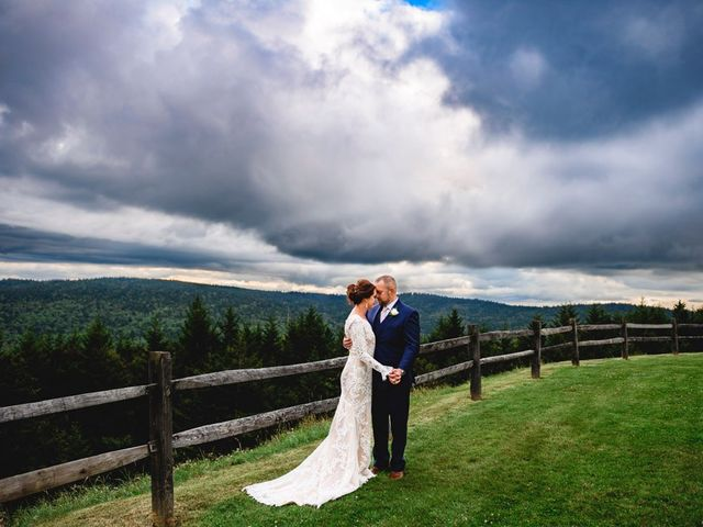 Eric and Ashley's Wedding in Snowshoe, West Virginia 24
