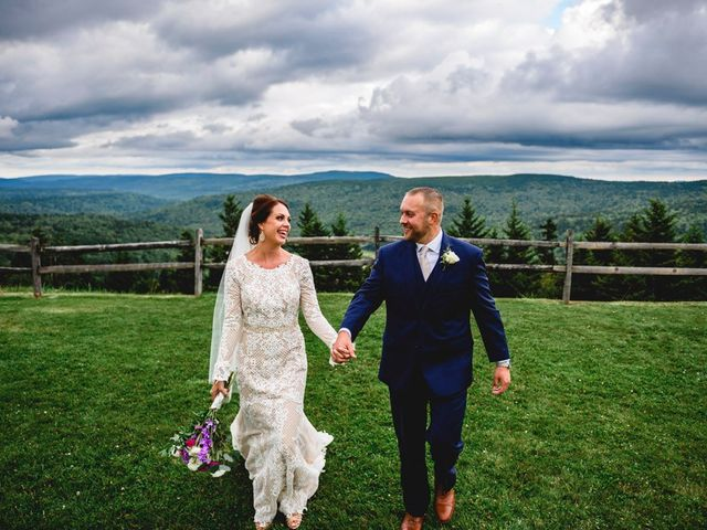 Eric and Ashley's Wedding in Snowshoe, West Virginia 25