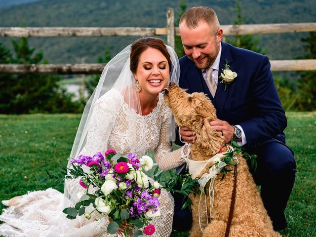 Eric and Ashley's Wedding in Snowshoe, West Virginia 30