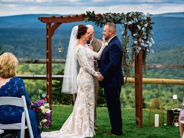 Eric and Ashley's Wedding in Snowshoe, West Virginia 37