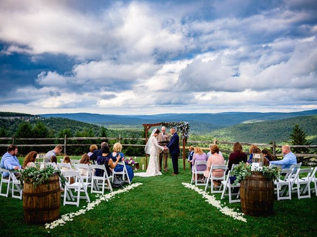 Eric and Ashley's Wedding in Snowshoe, West Virginia 44
