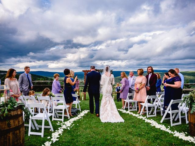 Eric and Ashley's Wedding in Snowshoe, West Virginia 45