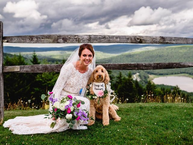 Eric and Ashley's Wedding in Snowshoe, West Virginia 56