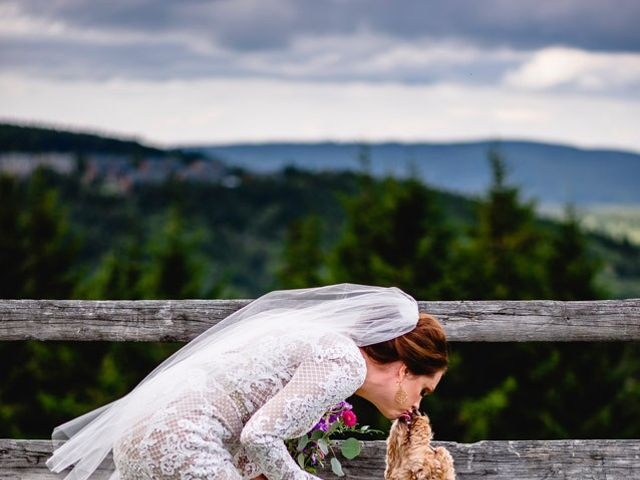 Eric and Ashley's Wedding in Snowshoe, West Virginia 60