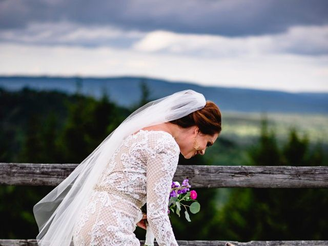 Eric and Ashley's Wedding in Snowshoe, West Virginia 61