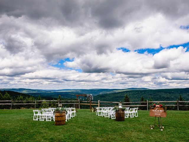 Eric and Ashley's Wedding in Snowshoe, West Virginia 91