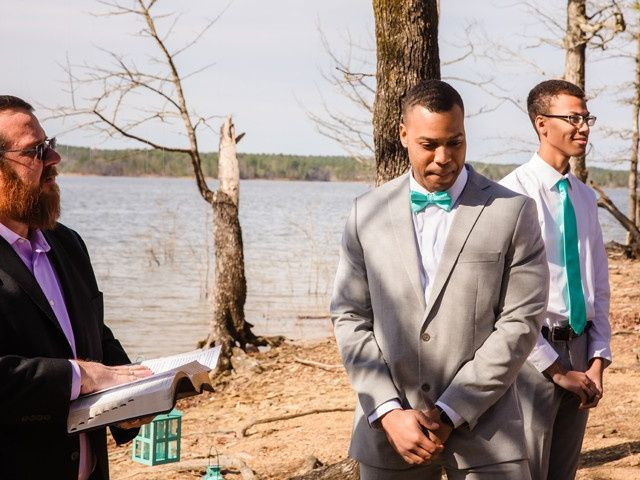 Tyler and Casey's Wedding in Mount Ida, Arkansas 16