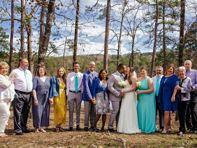 Tyler and Casey's Wedding in Mount Ida, Arkansas 14