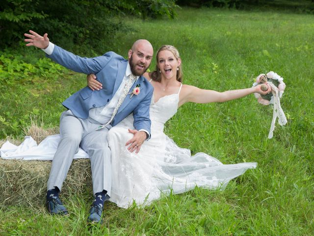 The wedding of Brenna and Matt